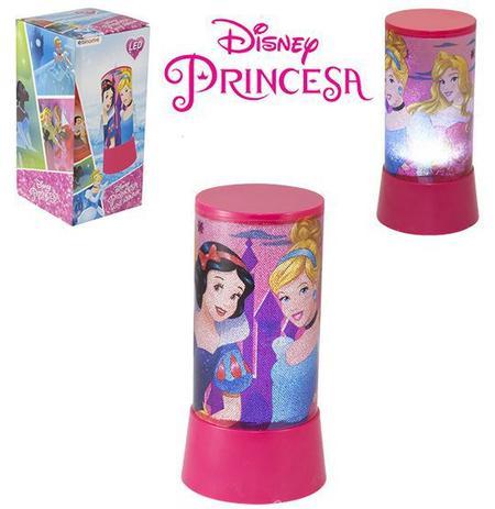 Imagem de Abajur / luminária infantil de led a pilha princesas