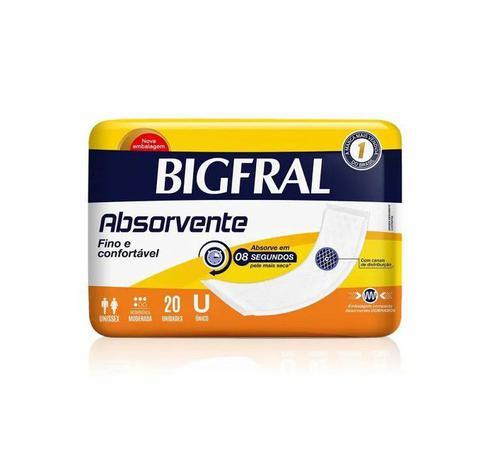 Imagem de Absorvente geriátrico bigmaxi tamanho g (c/20) - bigfral