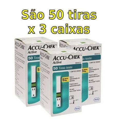 Imagem de ACCU-CHEK ACTIVE - COMBO 150 TIRAS (3x50)