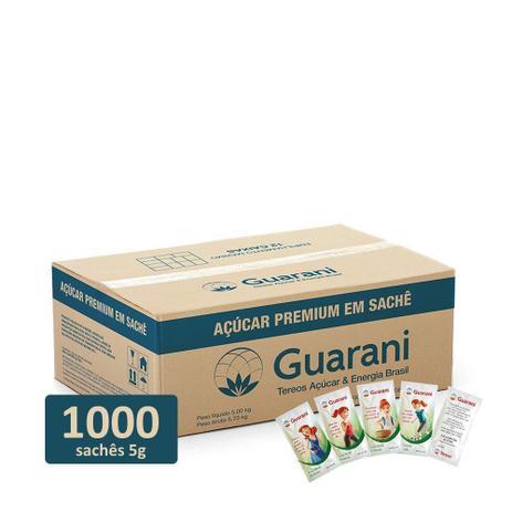 Imagem de Açucar em Sachê 5g Refinado Premium Caixa com 1000 unidades