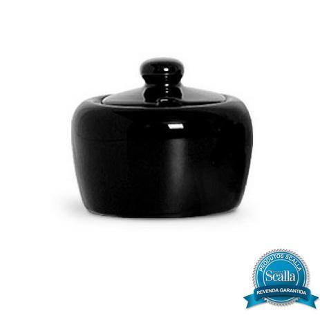 Imagem de Açucareiro em cerâmica 300 ml standard preto scalla