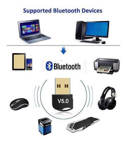 Imagem de Adaptador usb bluetooth 5.0 sd-btg5  sdinfbr