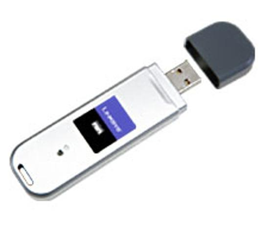 Imagem de Adaptador Wi-fi Linksys Wireless - G Usb Wusb54gc