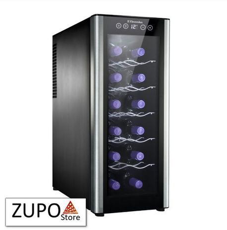 Imagem de Adega de Vinhos Climatizada Electrolux para 12 Garrafas - ACS12 - 127V