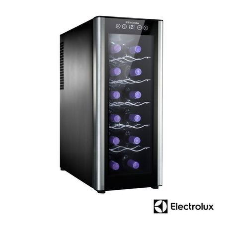 Imagem de Adega de Vinhos Electrolux ACS12  12 Garrafas com Até 18 C - 220V