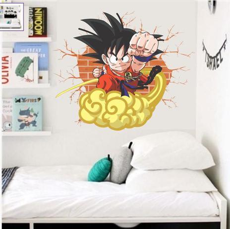 Adesivo De Parede Quarto De Meninos Dragon Ball Z Senhorita Decor Adesivo De Parede Magazine Luiza