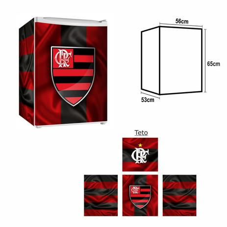 Imagem de Adesivo Envelopamento De Frigobar FL021 Flamengo Md65