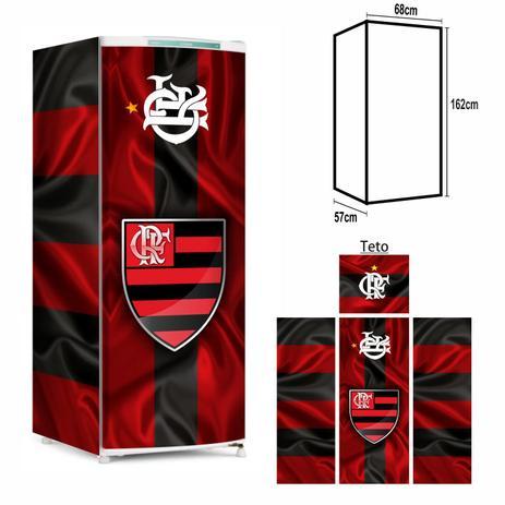 Imagem de Adesivo Envelopamento Geladeira FL021 Flamengo M162