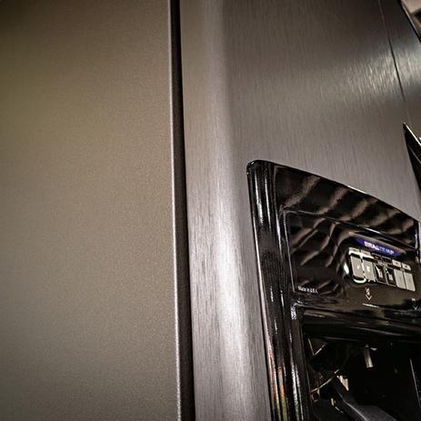 Imagem de Adesivo Envelopamento Vinil Prata Tipo Inox Aço Escovado