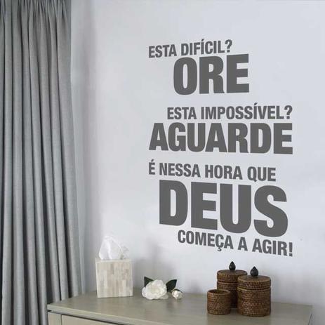 Adesivo Frase Ore Clickfik Papel De Parede E Adesivo Magazine