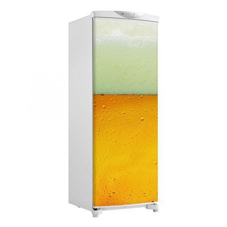 Imagem de Adesivo Geladeira Envelopamento Porta Cerveja E Espuma 3 - 180x65cm