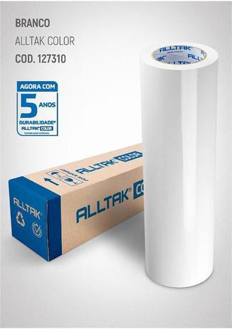 Imagem de Adesivo para envelopamento Geladeiras Móveis 3MX50CM BRANCO
