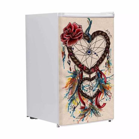 Adesivo Para Frigobar Filtro Dos Sonhos Desenho Porta 90 X 60 Cm