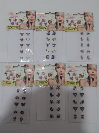 Imagem de Adesivo para unhas - arrazoo 5 cartelas