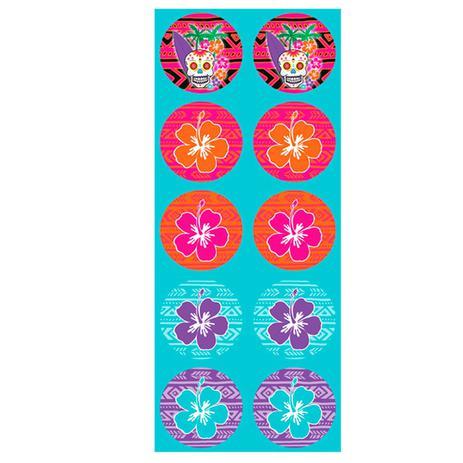 Adesivo Redondo Caveira Mexicana 30 unidades Duster - Festabox ... d3911863583