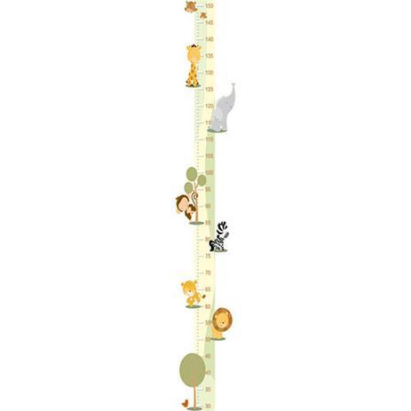 2a2b2c144 Adesivo Régua do Crescimento - Bichos 411 - R+ adesivos - Decoração ...