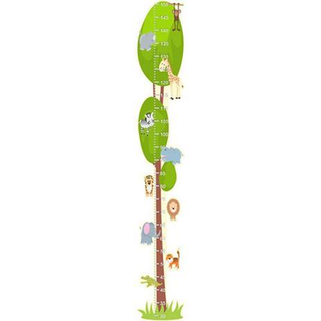 5d574e24b Adesivo Régua do Crescimento - Bichos Safari 575 - R+ adesivos ...