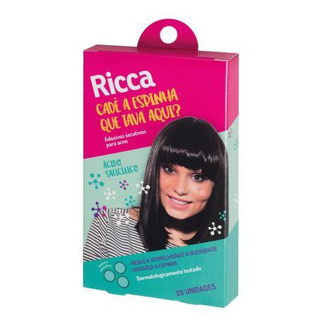 Imagem de Adesivo Secativo para Acne Ricca 20 unidades