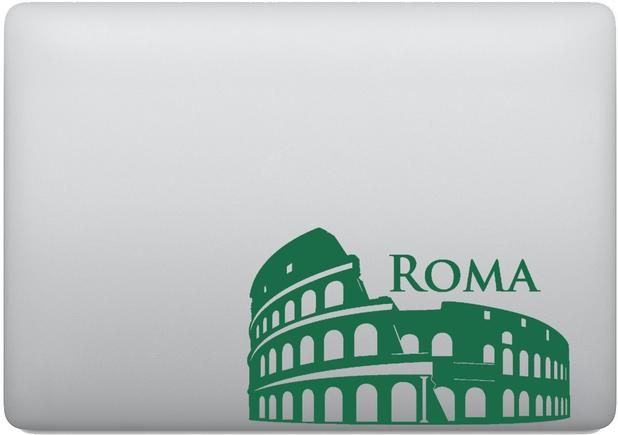 Imagem de Adesivo Tablet Notebook Pc Coliseu Roma 7 Maravilhas Mundo