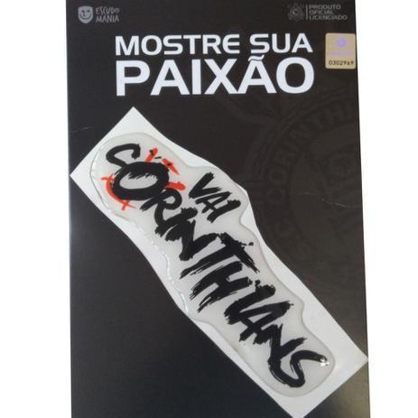 Adesivo Vai Corinthians 6 cm - Escudo Mania - Adesivos - Magazine Luiza 40191e7a58cb5