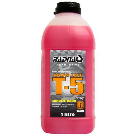 Imagem de Aditivo para Radiador T-5 Long Life ROSA 1L 40 Aditivo 60 água compostos químicos de alta p