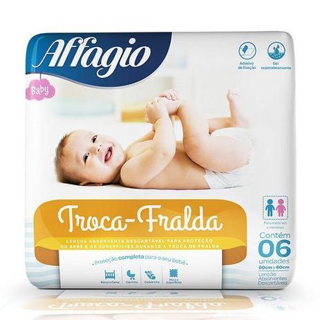 Imagem de Affagio lençol  Troca Fralda  06un