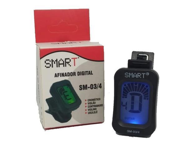 Imagem de Afinador Cromatico Digital Clip Smart SM03/4 Violino Ukulele