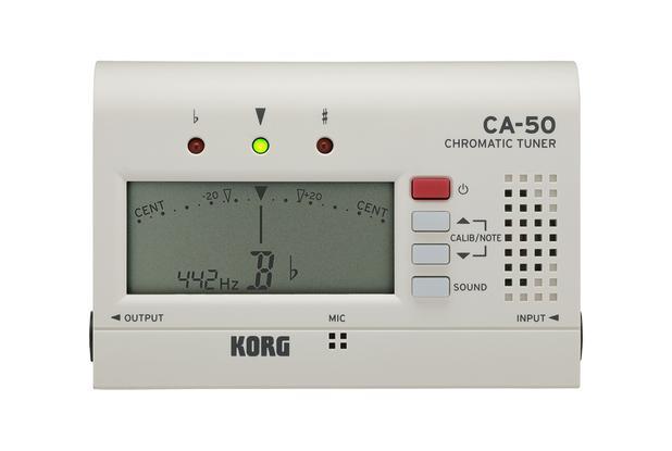 Imagem de Afinador Korg Compacto Cromático - Ca-50