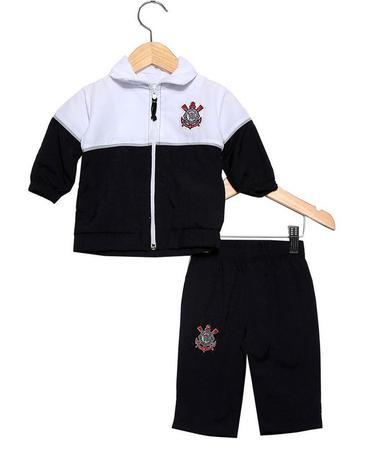 95e508418a72f Agasalho Bebê Corinthians Unissex Oficial - Revedor - Agasalho para ...