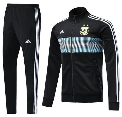 Agasalho da seleção da Argentina 2018 - Torcedor Adidas Masculina ... 7950e20d9ecbc