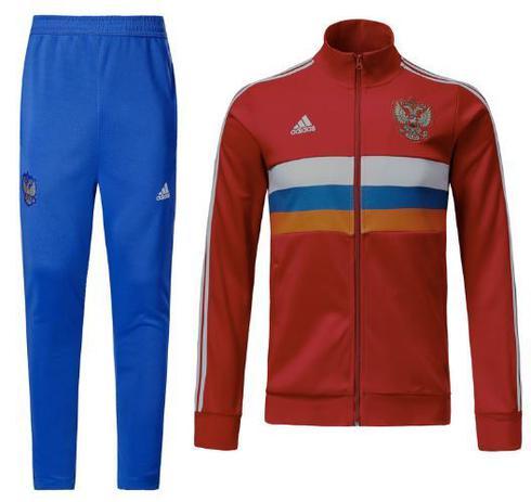 Agasalho da seleção da Rússia 2018 - Torcedor Adidas Masculina ... a04ace0a17d82