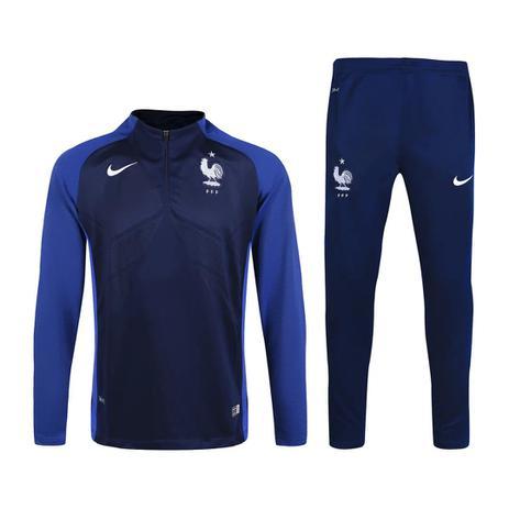 Agasalho de Treino da Seleção da França 17 18 - Torcedor Nike Masculina ead11af56b8b8