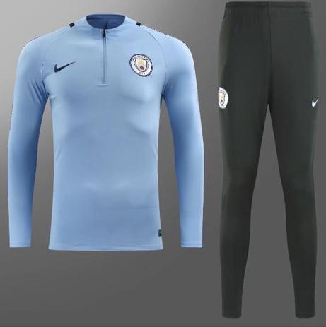 Agasalho de Treino do Manchester City 17 18 - Torcedor Nike Masculina 356c38b4fdf4f