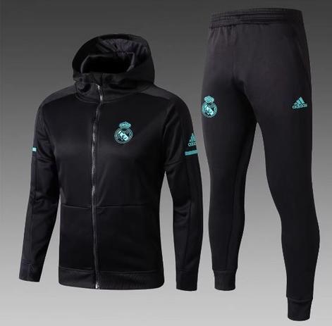 Agasalho do Real Madrid com Gorro 2018 2019 - Torcedor Adidas Masculina 79707d566bca3