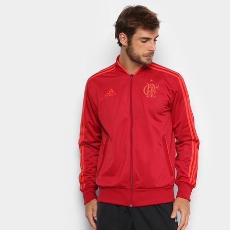 Agasalho Flamengo Pes Adidas 2018 Vermelho - Agasalho para Camping ... e5e1535732a6a