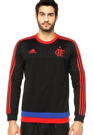 1e76519057e Agasalho Moletom Flamengo Adidas Rio450 Anos. - Agasalho para Trilha ...