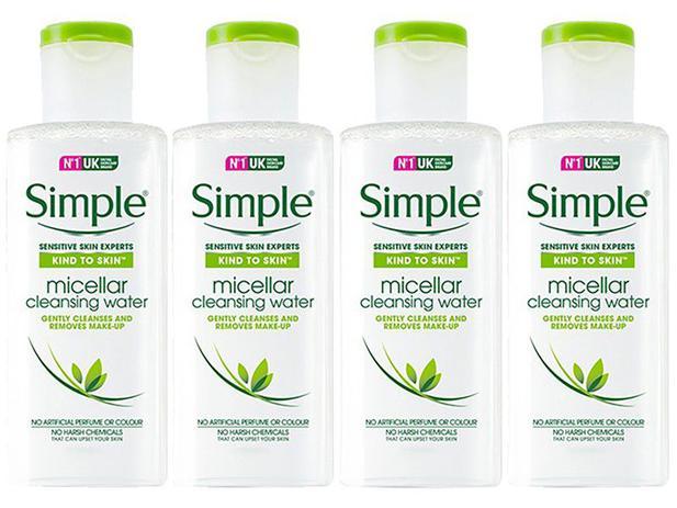 Imagem de Água Micelar Simple Sensitive Skin Experts