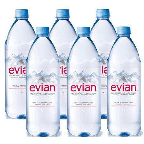 Imagem de Água Mineral Evian Sem Gás 1 Lt 06 Unidades