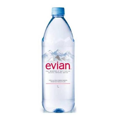 Imagem de Água Mineral Evian Sem Gás 1 Lt