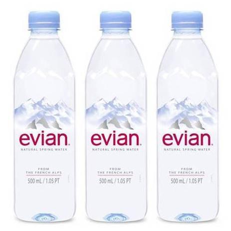 Imagem de Água Mineral Evian Sem Gás 500ml 03 Unidades