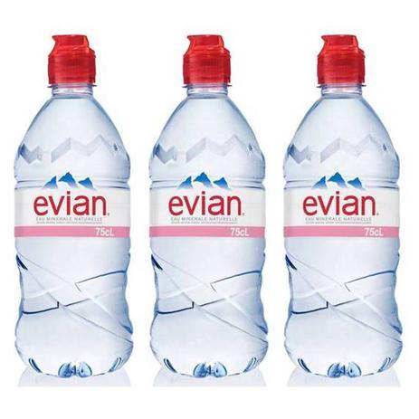 Imagem de Água Mineral Evian Sem Gás Plástico 750ml 03 Unidades