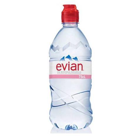 Imagem de Água Mineral Evian Sem Gás Plástico 750ml