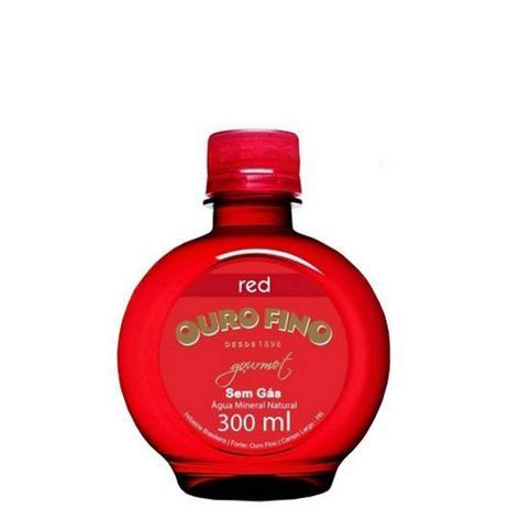 Imagem de Água Mineral Ouro Fino Gourmet Red sem Gás 300ml
