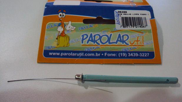 Imagem de Agulha Limpa Fogão Parolar (Kit 3 Peças) Ref. 06388