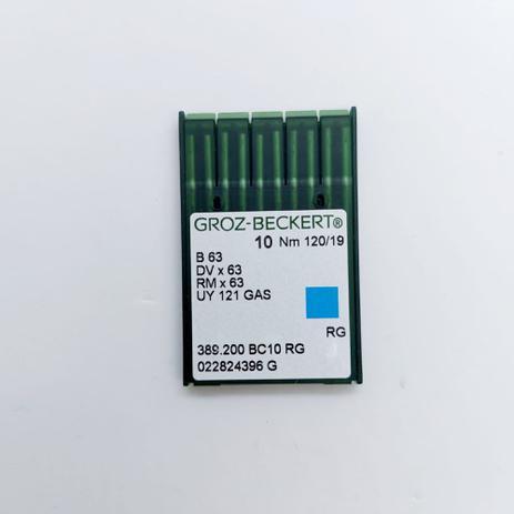 Imagem de Agulha para Máquina de Costura B63 DV X 63 UY 121 GAS RG - Pacote com 10 agulhas