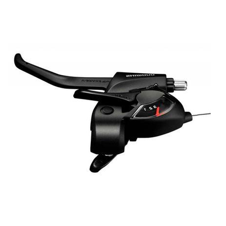 Alavanca de cambio/freio shimano tourney st-ef41 3v esq pto (1140180) -  Alavanca de Câmbio para Bicicleta - Magazine Luiza