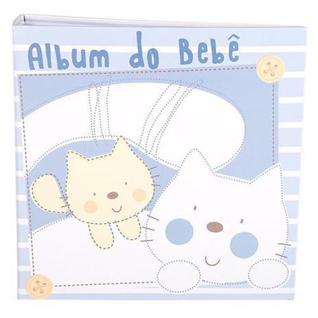 Imagem de Álbum 100 Fotos 15x21 Mimos Azul 300/04