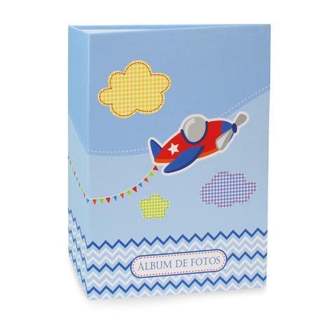 Imagem de Álbum Bebê Rebites Solda Avião Menino 120 Fotos 10X15