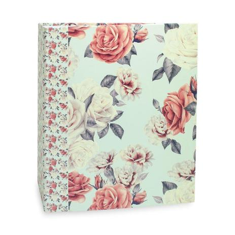 Imagem de Álbum de Fotos 500 Fotos 10x15 R Floral 563