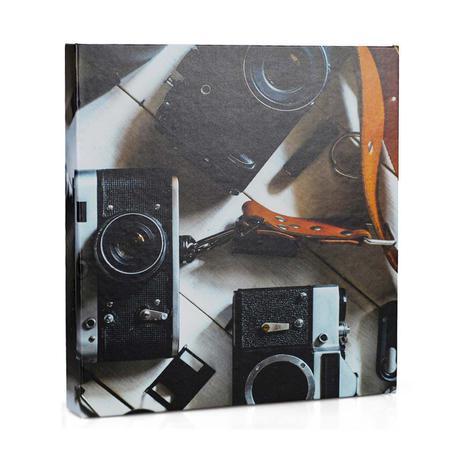 Imagem de Álbum de Fotos Autocolante Adesivo Câmeras - 15 Folhas
